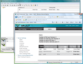 SourceGear Vault improves Notification Server