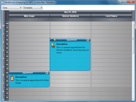 MindFusion.Scheduling for WPF V3.3 released