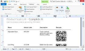 TX Barcode adds HTML5 Compatibility