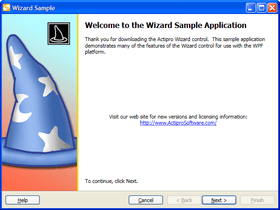 Actipro patches Wizard for WPF