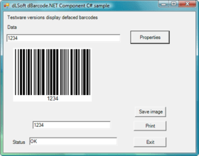 dBarcode.NET Components patched to V4.1