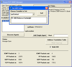PowerSNMP for ActiveX updated
