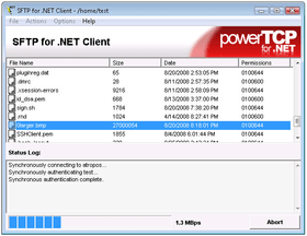 PowerTCP SSH and SFTP for .NET updated