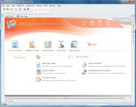 dbForge Studio for Oracle updated