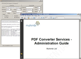 Muhimbi PDF Converter Services updated