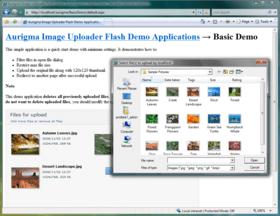Streamline file uploads with Flash