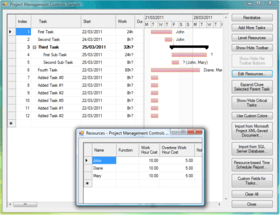 Project Management for WinForms released