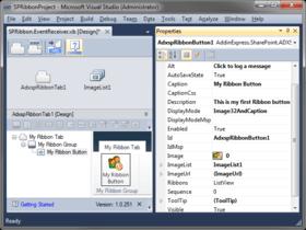 Ribbon Designer for SharePoint released