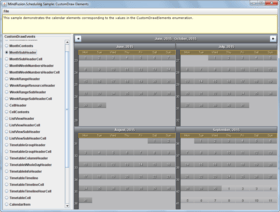 MindFusion.Scheduling for Java Swing launched