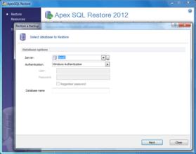 ApexSQL Restore released
