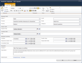HarePoint HelpDesk for SharePoint released