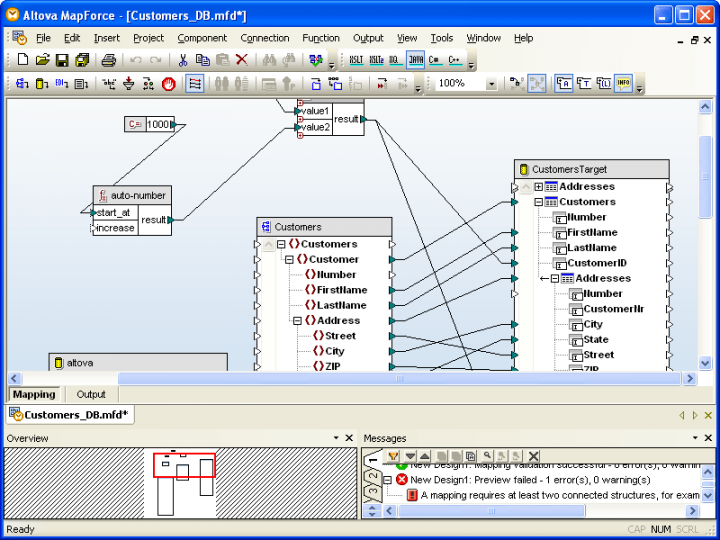 About Altova MapForce Enterprise Edition - Installed Users: Visual data integration and Web services implementation tool.