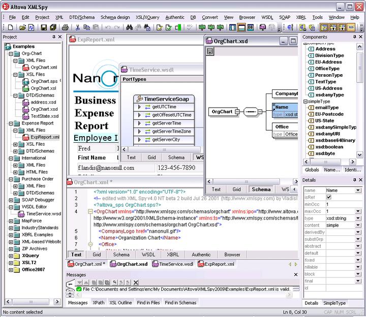 Altova XMLSpy 2011 Standard Edition - Concurrent Users 관련 정보: 고급 XML 응용프로그램을 개발.