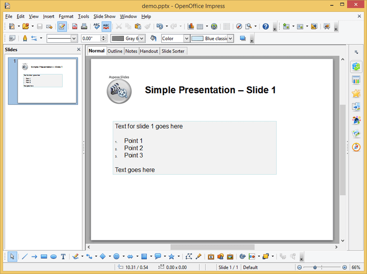 About Aspose.Slides for Java: Create PowerPoint documents without utilizing Adobe Acrobat.