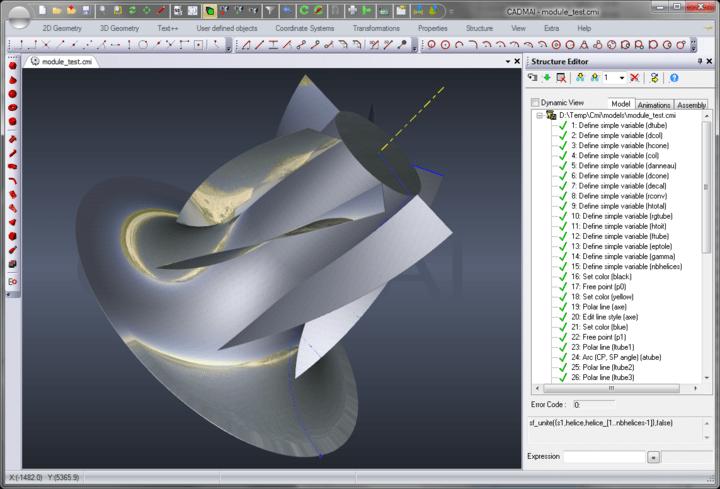 About CADMAI: A comprehensive CAD framework.