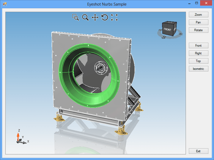 About Eyeshot Nurbs: Add CAD capabilities to your .NET applications.