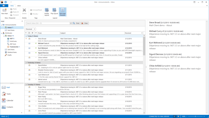 About XtraNavBar Suite: Microsoft Office-inspired Side Bar, Navigation Pane and Explorer Bar.