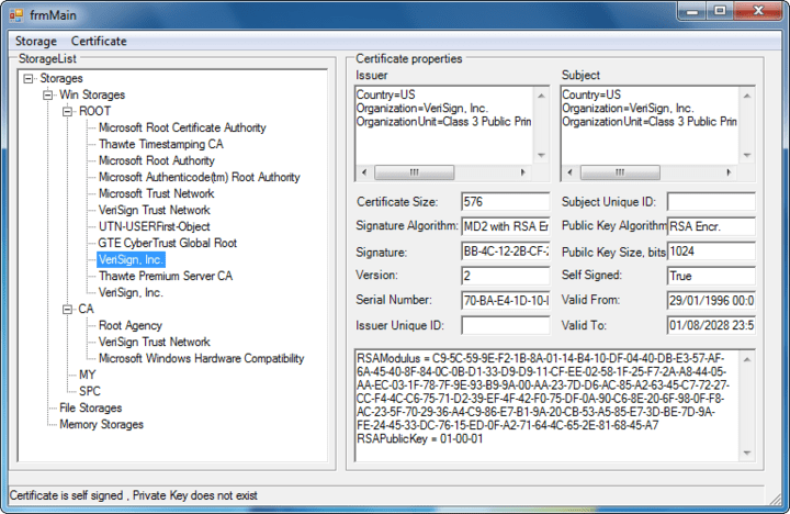 About PKIBlackbox .NET - Vendor: Certificate management, data processing (signing, encryption, timestamping), executables signing.