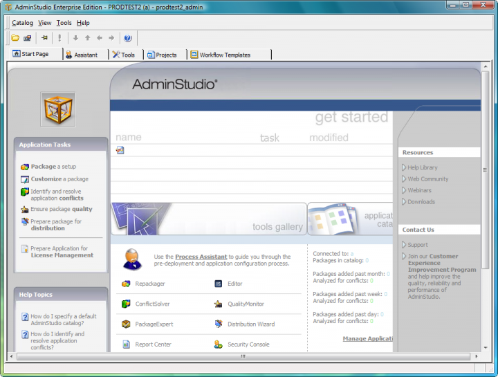 About AdminStudio Enterprise: Prepare reliable applications and patches for enterprise use.