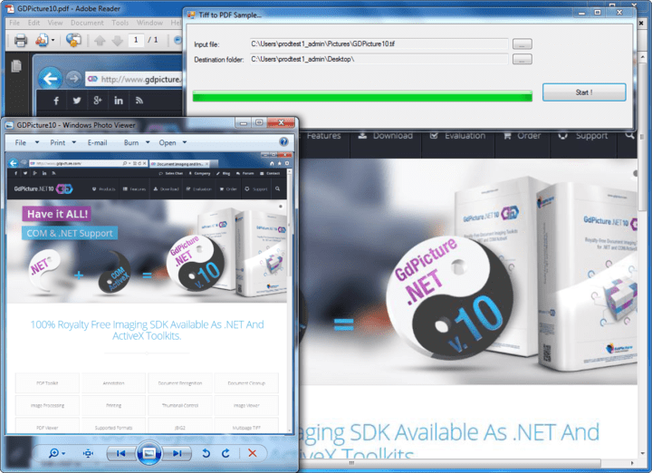 About GdPicture.NET Document Viewer SDK: Versatile viewing solutions, display Image and PDF files in WinForms and Web Apps.