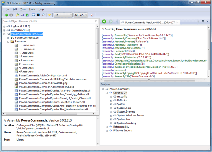 About .NET Reflector VSPro: Debug third-party code, even if you don't have the source.