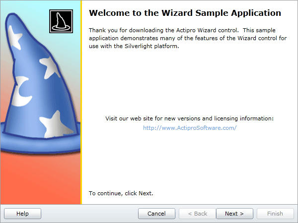 <strong>Everything you need to quickly create wizard dialogs.</strong><br /><br />