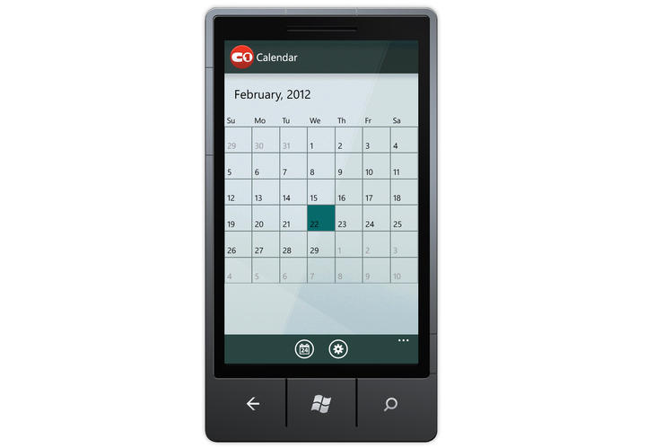 Deliver your own Windows 8 UI-style calendars.