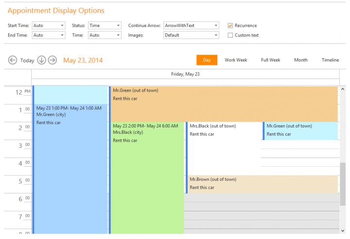 <strong>Outlook® inspired scheduler & calendar.</strong><br /><br />