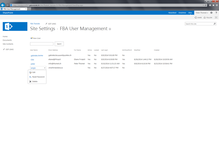 <strong>FBA User Management</strong><br /><br />