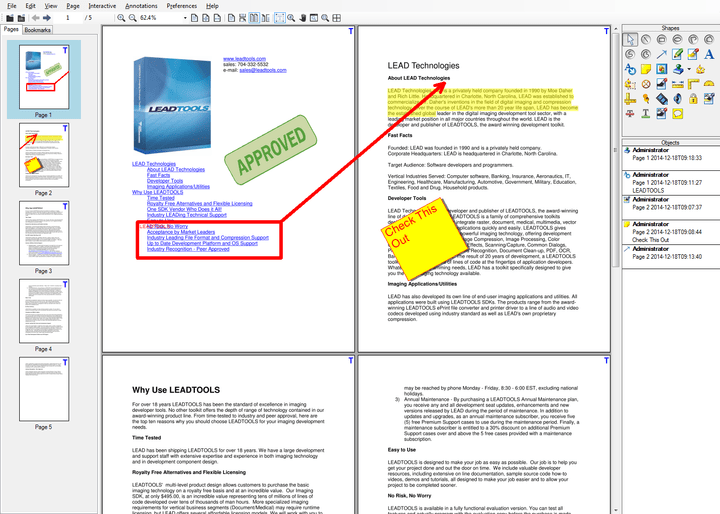 <strong>Convert and view any document format.</strong><br /><br />