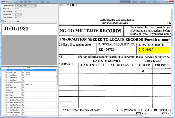 <strong>Classify and extract fields from scanned and filled forms.</strong><br /><br />