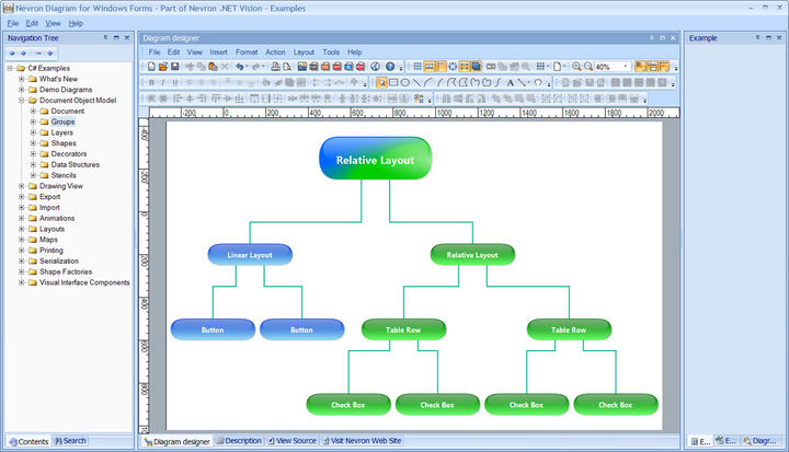 <strong>The most feature-rich Diagram Component for .NET developers.</strong><br /><br />