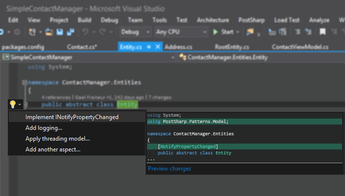 <strong>Visual Studio Tooling</strong><br /><br />