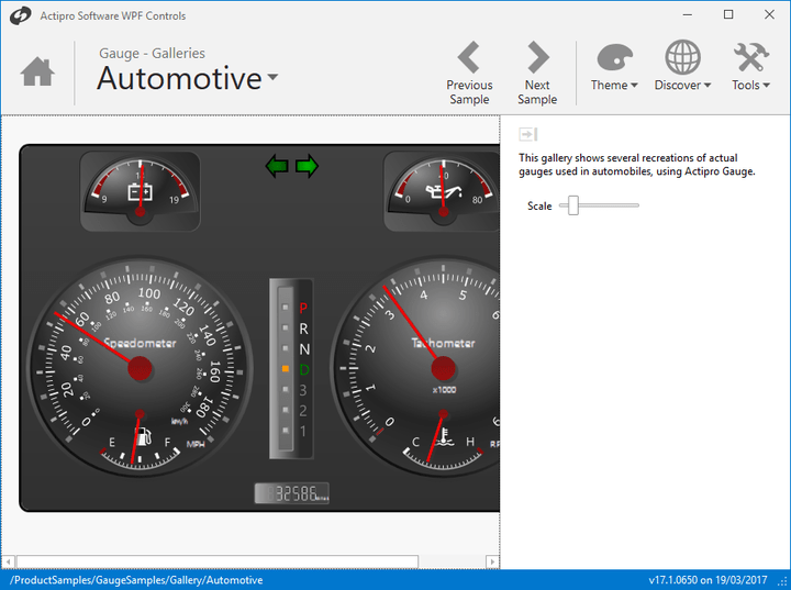 <strong>Actipro Gauges for WPF</strong><br /><br />