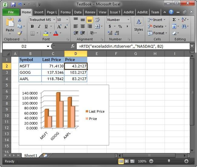 <strong>Excel RTD Server</strong>: A sample Excel real-time data server in Excel 2010.<br /><br />