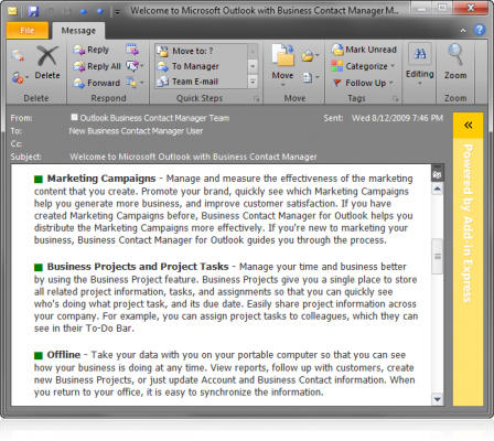 <strong>Outlook Form Region</strong>: Sample version-neutral Outlook form region with a custom design.<br /><br />
