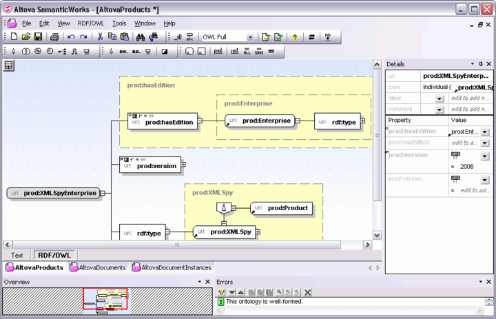 <strong>Screenshot of Altova MissionKit Professional 2015 Upgrade from Altova MissionKit 2014 for Professional Software Architects</strong><br /><br />