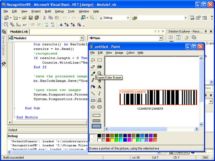 Screenshot of Aspose.BarCode for .NET