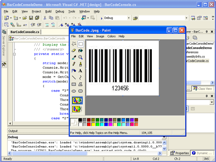 <strong>Barcode Generation</strong>: Aspose.Barcode can be used to generate barcodes and save them as images. 