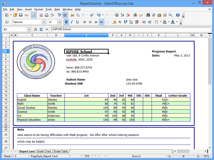 <strong>Aspose.Total for .NET (英語版) のスクリーンショット</strong>: Aspose.Total includes Aspose.Cells which lets you create and manage Excel Spreadsheets without requiring Microsoft Excel. 