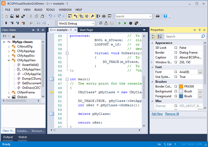 <strong>Microsoft Visual Studio 2015 Look</strong><br /><br />