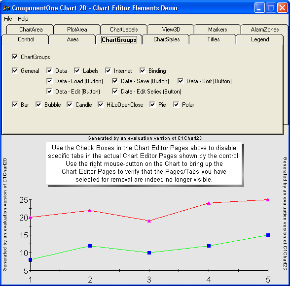 Chart Editor: Dynamically change the elements in your Chart using the Chart Editor