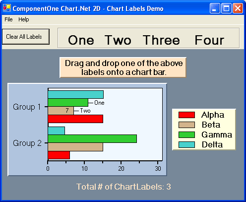 <strong>Chart Labels</strong>: Easily label your data with drag-and-drop labelling<br /><br />