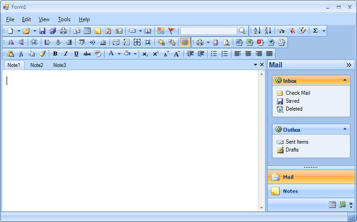 <strong>Menu & Toolbar</strong>: Powerful Suite of Menu & Toolbar Controls.<br /><br />