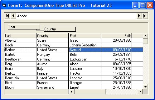 Download true dbgrid pro 7 0