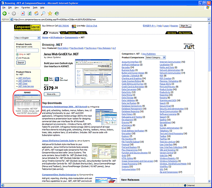 <strong>Business Category Page Premium Position - Top</strong><br /><br />
