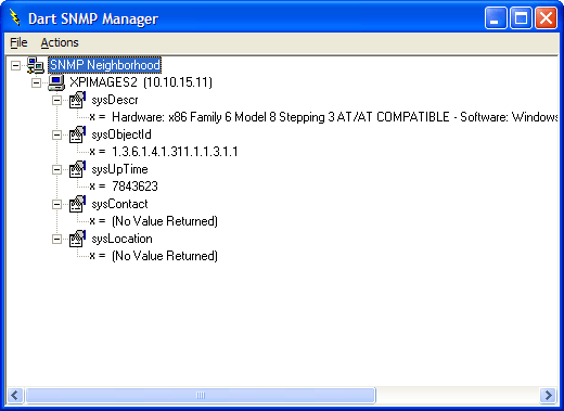 <strong>SNMP Explorer</strong>: You can create an explorer-like view of available SNMP agents.<br /><br />