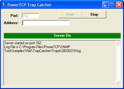 <strong>Trap Catcher</strong>: You can listen for and logs traps.<br /><br />
