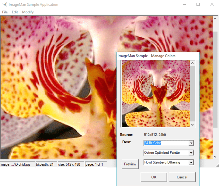 <strong>Processing</strong>: Image processing classes include support for Rotation, Scaling, Antialiasing, Sharpening, Adjusting Color/Brightness/Gamma, cropping, merging and more. <br /><br />