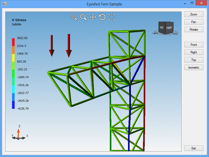 <strong>Truss Finite Element Analysis</strong><br /><br />